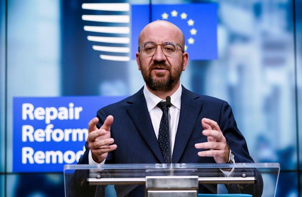 Euroopa Ülemkogu eesistuja Charles Michel. Autor/allikas: Siim Lõvi /ERR Euroopa Ülemkogu eesistuja Charles Michel