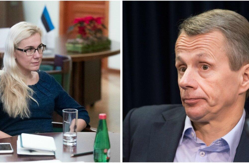 Kadri Simson, Jürgen Ligi