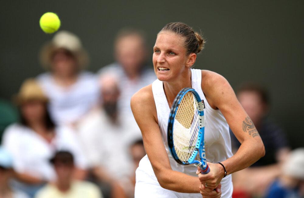 Esmakordselt ajaloos: Wimbledoni naisüksikmängus enne veerandfinaale väljas kõik esikümne asetusega mängijad