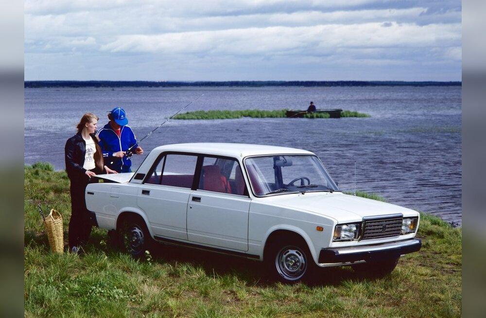 VAZ 21-07ga seoses on suurel hulgal eestimaalastelgi põhjust hulka mõnusaid mälestusi mõlgutada. Foto RIA Novosti