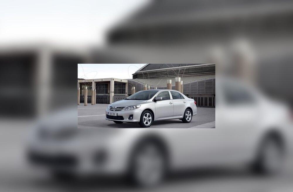 Toyota Corolla elab tänini, näiteks sellise sedaanina