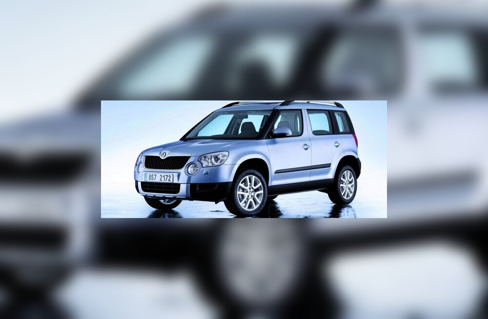 """Автомобилем года"" в Эстонии признан кроссовер Škoda Yeti"