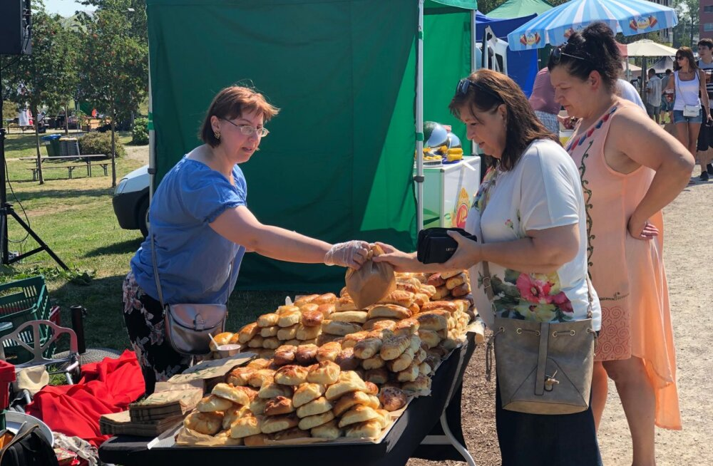 На Фестивале пирожков Ласнамяэ позаботились о здоровье и природе