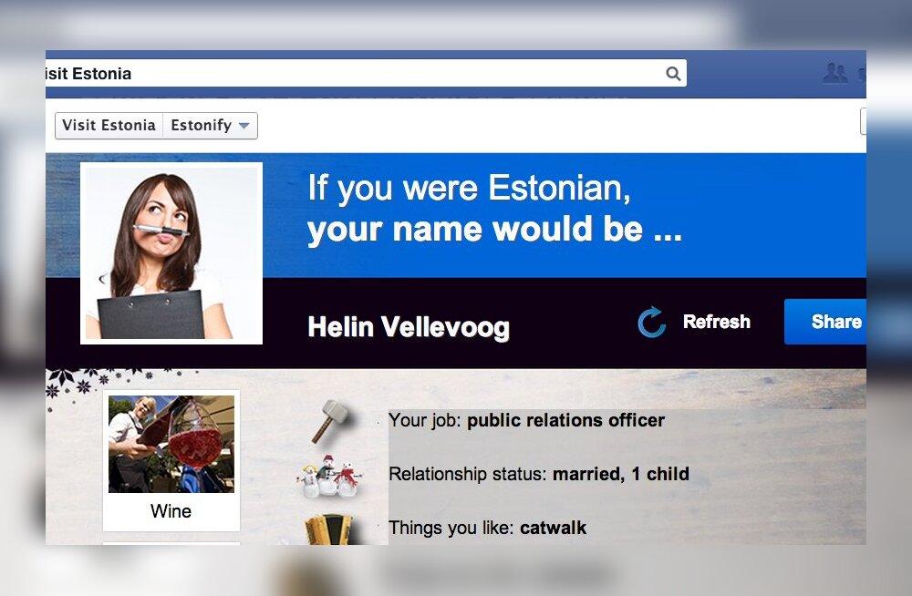 Facebooki mäng välismaalastele: milline sa oleksid, kui oleksid eestlane?