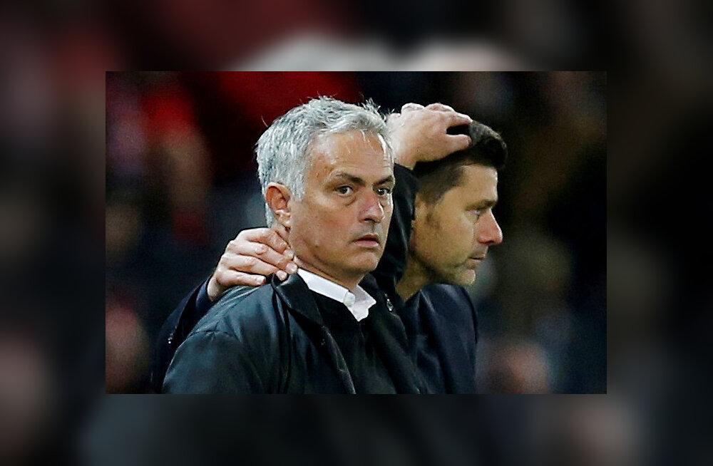 Jose Mourinho ja Mauricio Pochettino