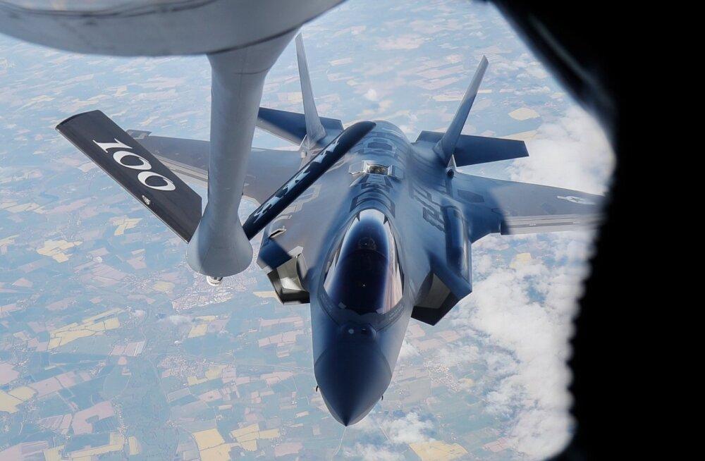 F-35 tankimine Euroopa kohal