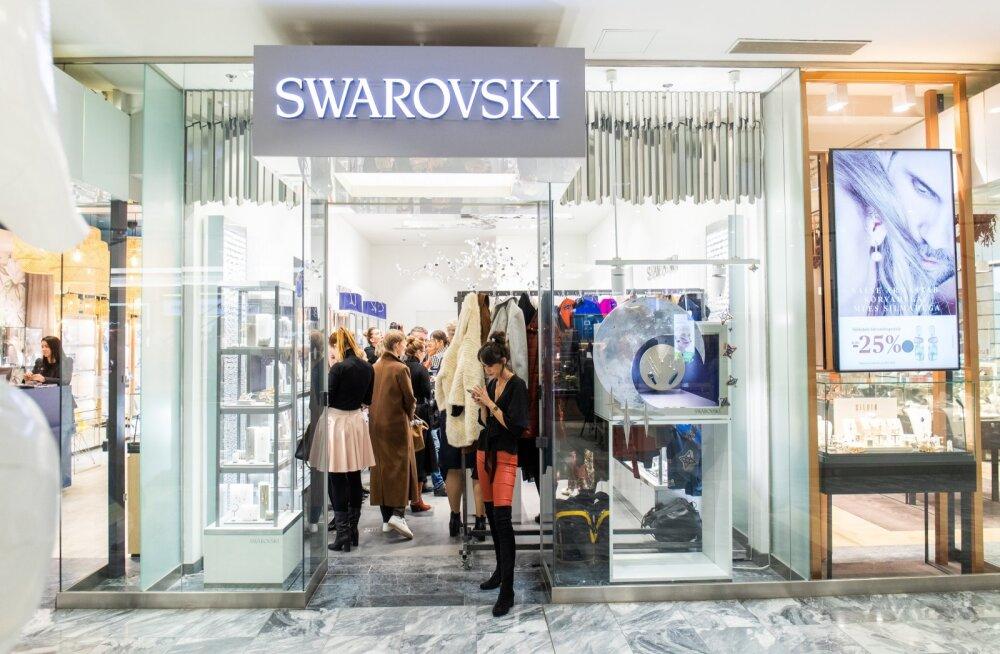 Swarovski kauplus Viru keskuses