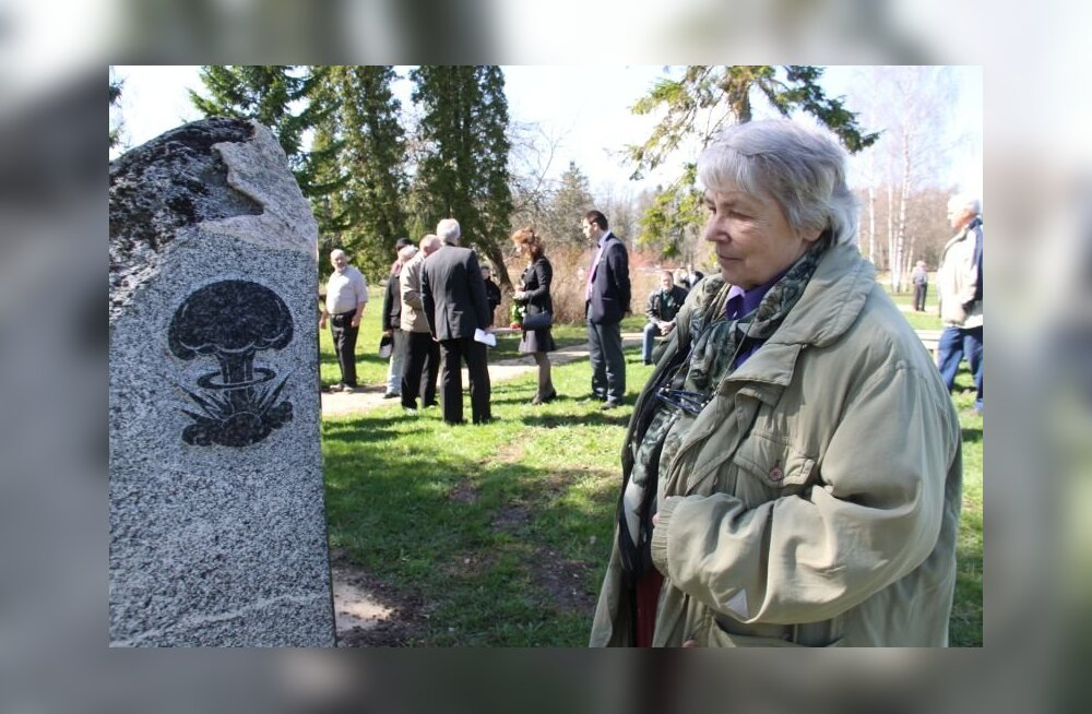 ФОТО: В Пилиствере открыт памятник жертвам радиации