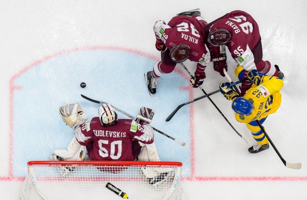 Läti - Rootsi jäähoki