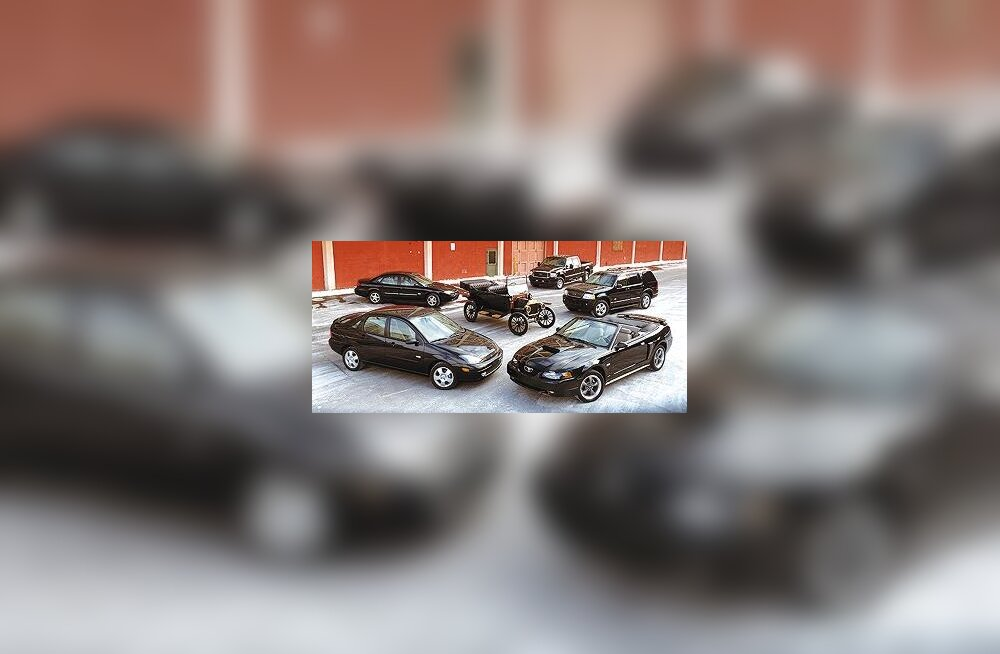 Ford Focus CE, Ford Taurus CE, Ford F-Series Super Duty Crew Cab CE, Ford Explorer CE ja Ford Mustang CE