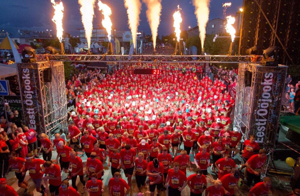 Juubeli Ööjooks toimub 15. augustil Rakveres. Foto Ain Liiva