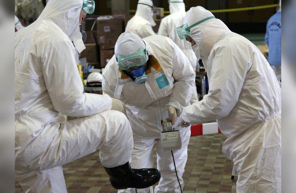 USA kaalub 450-liikmelise radiatsiooni eriüksuse Jaapanisse saatmist