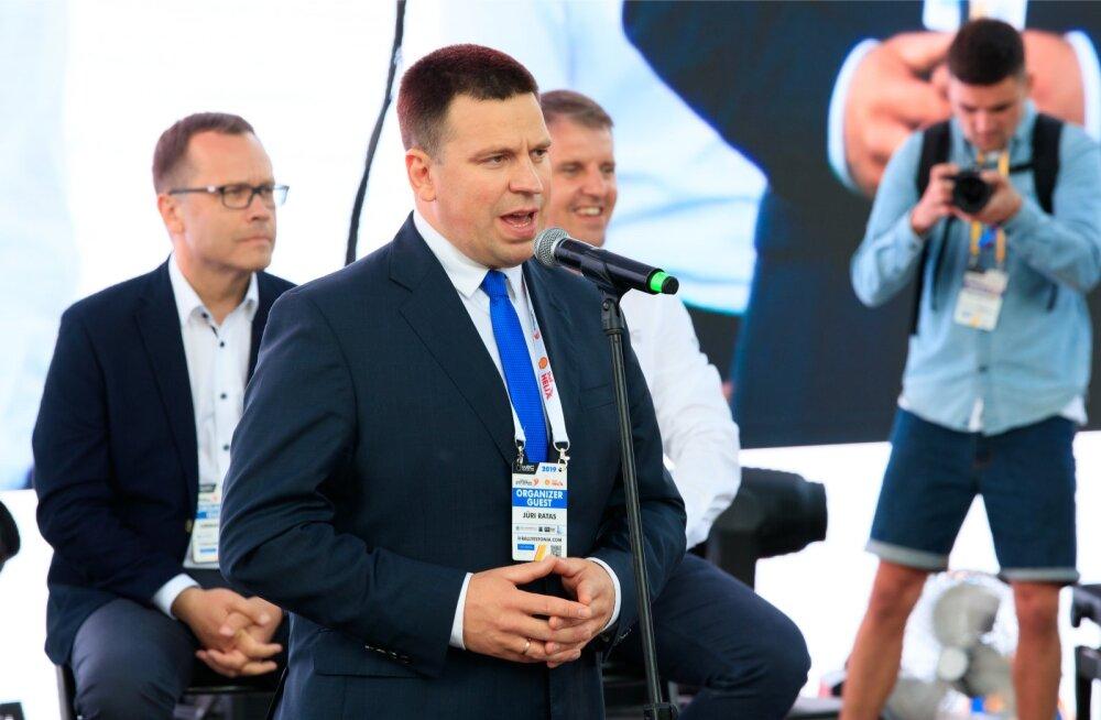 Rally Estonia avamine