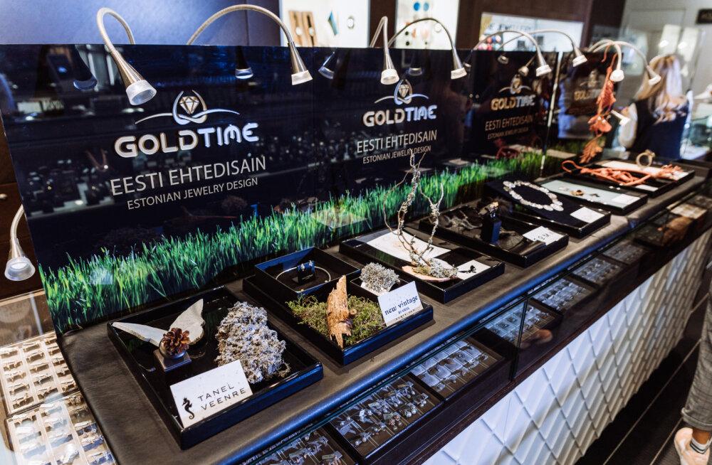 FOTOD | Goldtime esitles uut projekti, kus ehted on valmistatud loodusest korjatud materjalidega