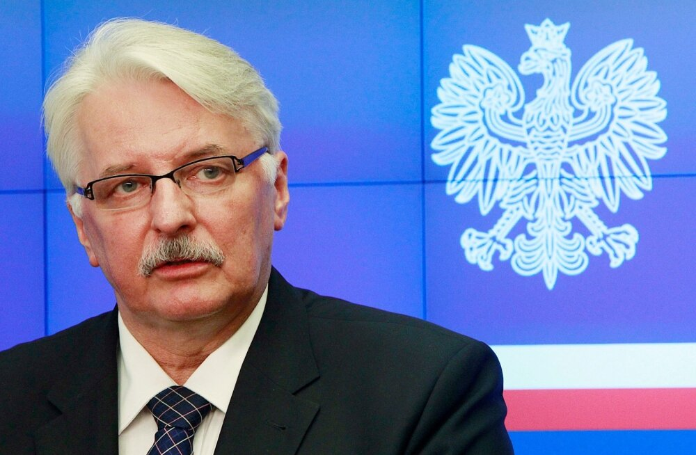 Välisminister Waszczykowski: kui Venemaa pingeid ei suurenda, ei nõua Poola NATO idatiiva edasist tugevdamist