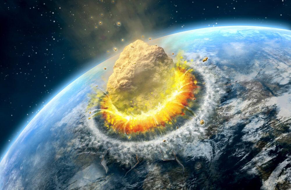 Asteroidilöögi tolmupilv levis ülikiiresti üle maakera
