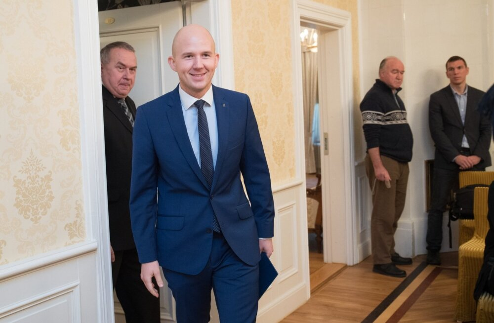 Keskerakonna Tallinna abilinnapeakandidaadid Poska majas