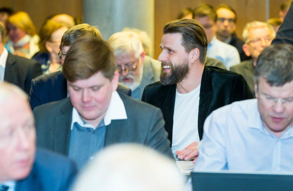 Tartu linnavolikogu istung tselluloositehase rajamise teemadel