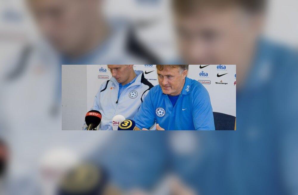 Tarmo Rüütli, Eesti peatreener
