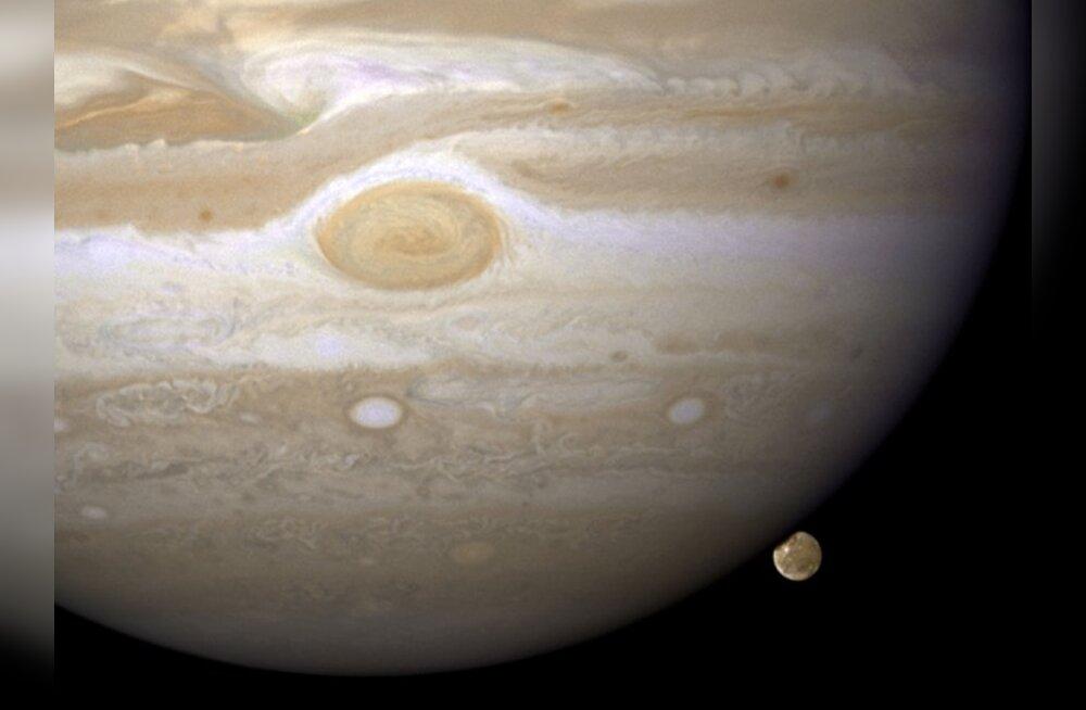 Jupiteri tabas taaskord kosmiline rünnak