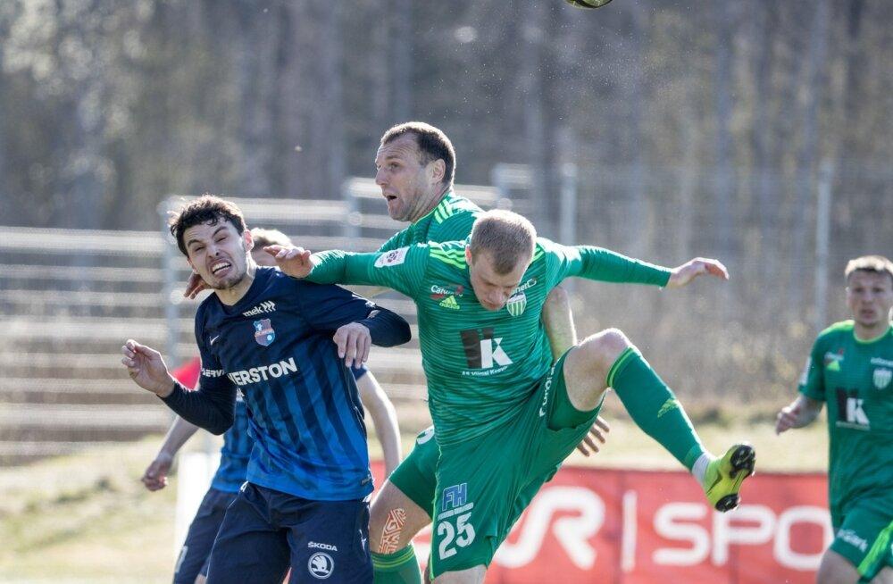 Paide Linnameeskond vs FCI Levadia