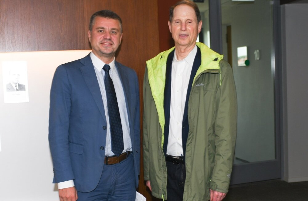 Välisminister Urmas Reinsalu ja USA senaator Roy Wyden