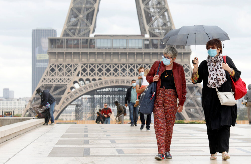 Париж ужесточает ограничения в связи с коронавирусом