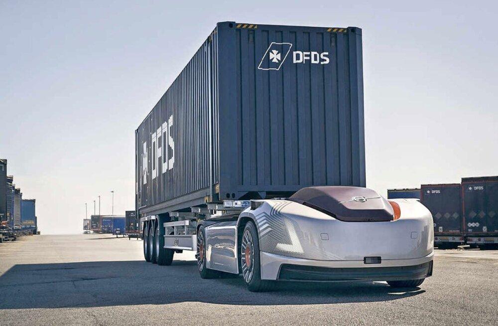 Volvo elektriline isejuhtiv veoauto Vera sai ametliku töökoha