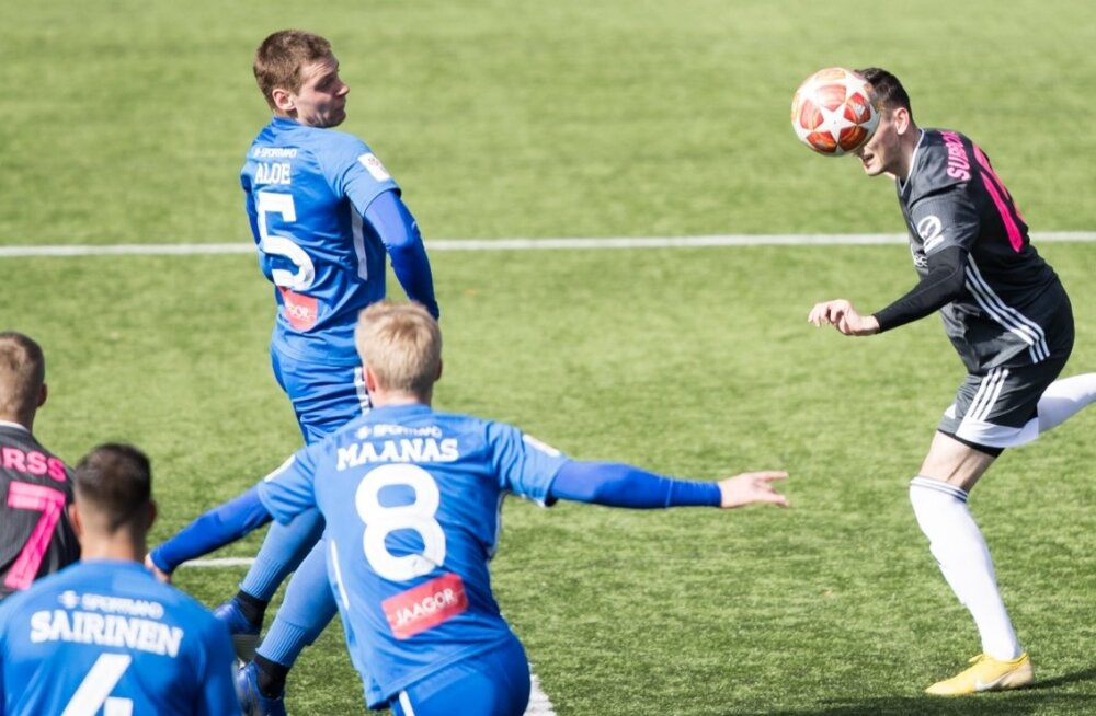 Jalgpall. Nõmme Kalju vs Tartu Tammeka