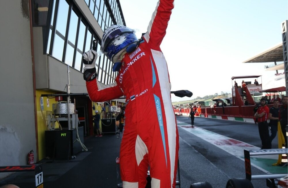 Paul Aron võitis F4 sarjas Mugello ringrajal 1. sõidu