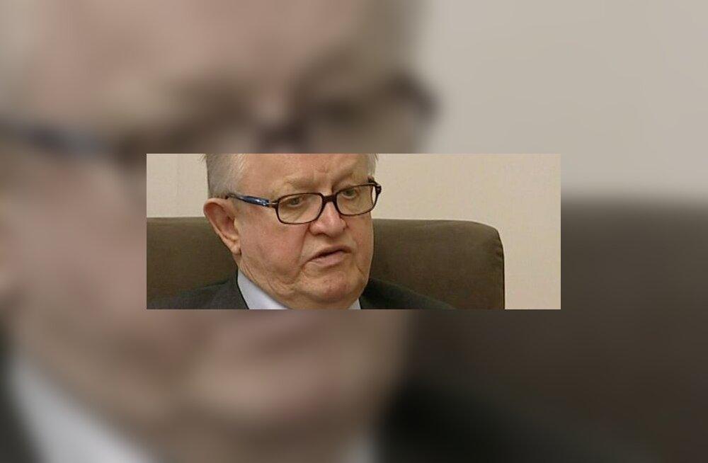 Ahtisaari Nobel tõstis ta suurte soomlaste tabelisse