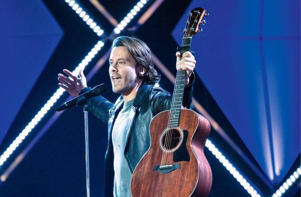 JA VÕITJA ON... Victor Crone! Eesti ajaloos juba kolmas rootslane, kes sõidab Eurovisioonile Eesti kastaneid tulest välja tooma.
