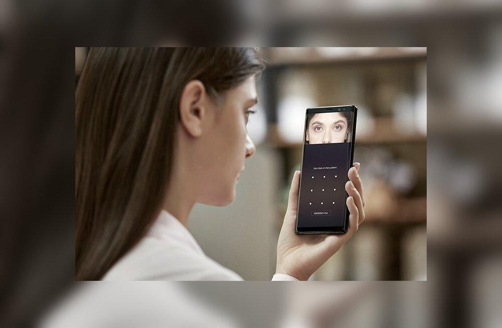 Uuemate telefonidega saab sisselogimiseks kasutada ka iiriseskannerit, sõrmejäljelugejat või näotuvastust.
