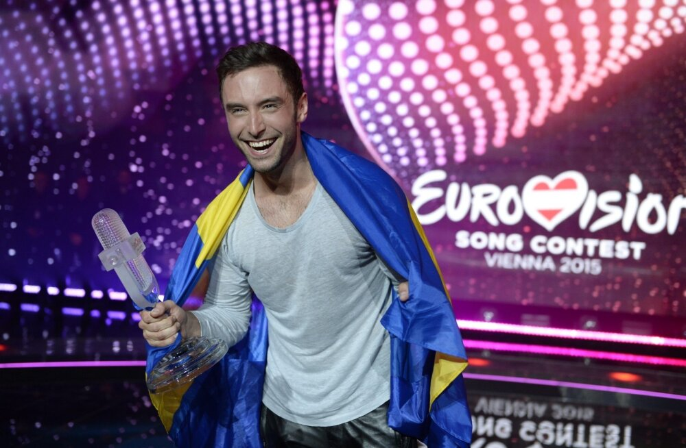 Фото и имена всех победителей евровидения