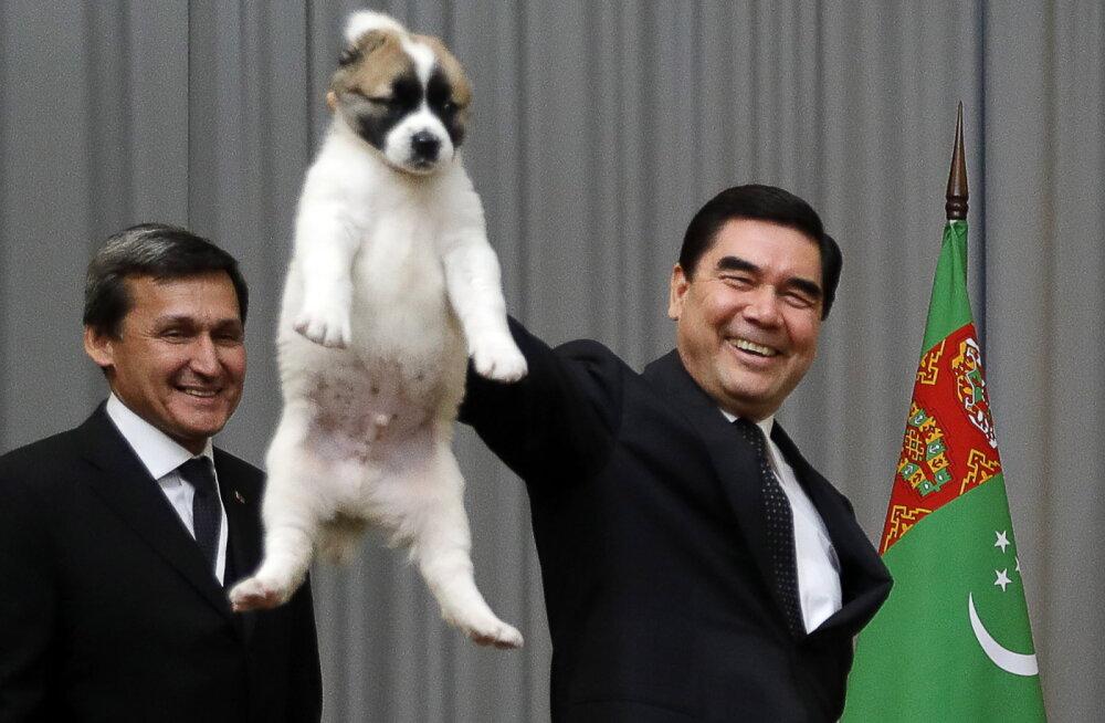 Türkmenistani president suri väidetavalt puhkuse ajal