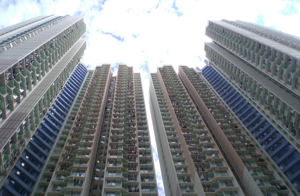 Miks Hiinas on tihti 50-korruselisel majal tegelikult ainult 35 korrust
