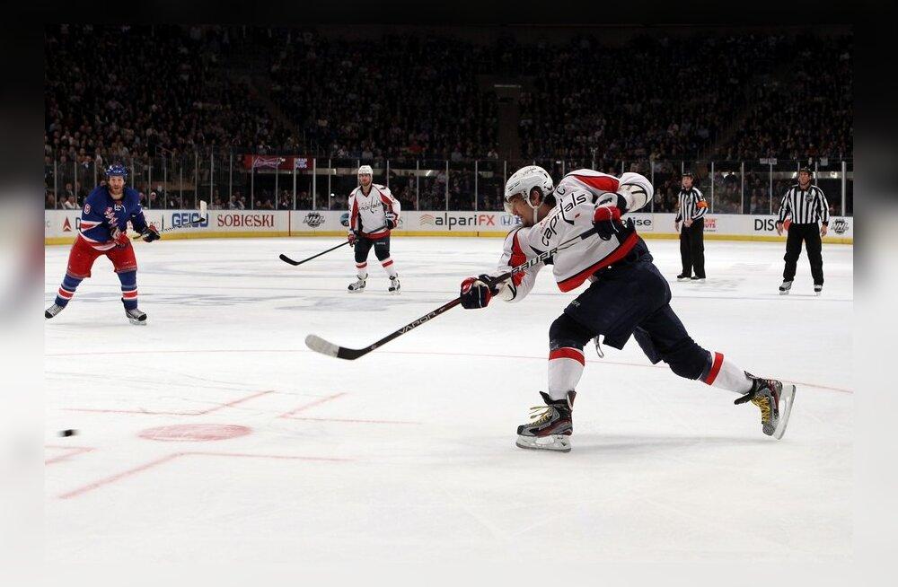 Aleksander Ovetškini pealelöök, NHL, jäähoki