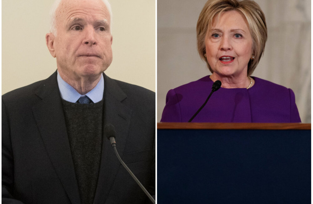 VIDEO | Hillary Clinton meenutas CNNi eetris: John McCainiga oli meil väga lõbus õhtu Tallinnas! Jõime võidu viina
