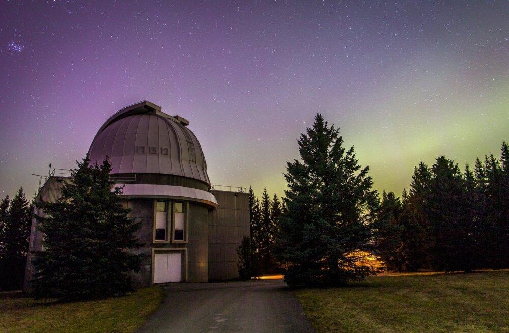 Virmalised Tõravere Observatooriumi juures