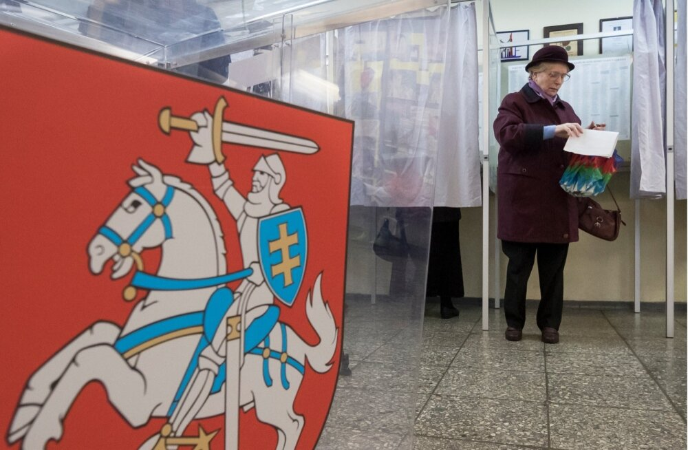 Leedu parlamendivalimiste esimest vooru on võitmas tsentristlik talupidajate ja roheliste liit ning konservatiivid
