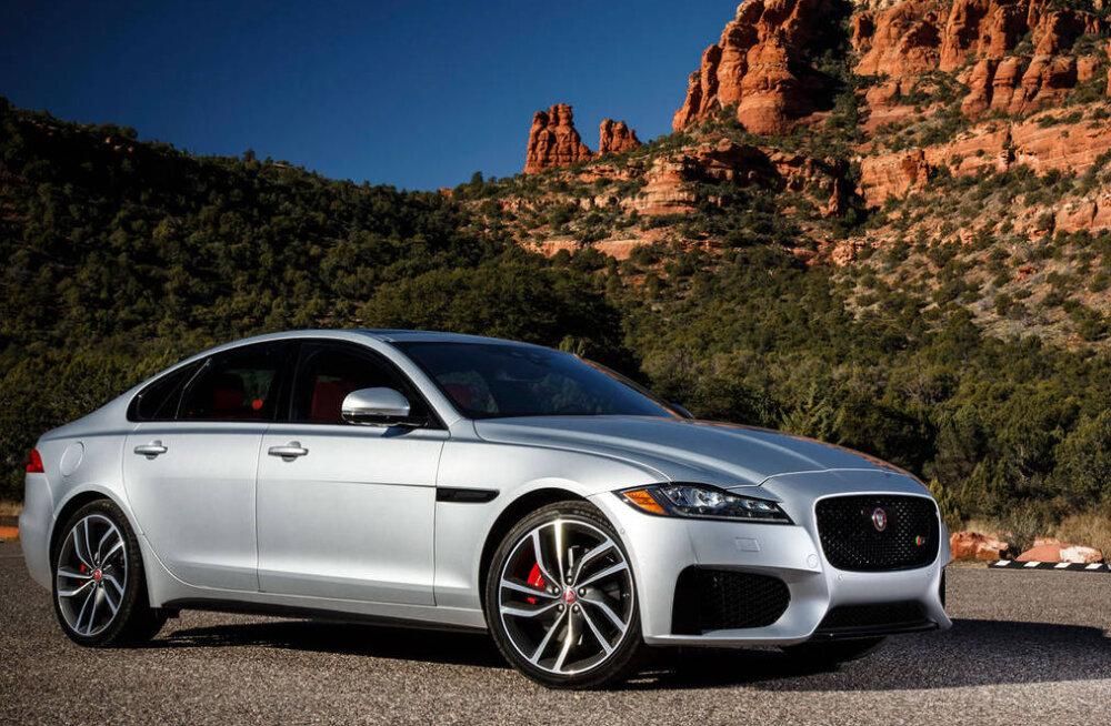 PROOVISÕIT: Jaguar XF, mugavusse mähitud kiirus ja jõud