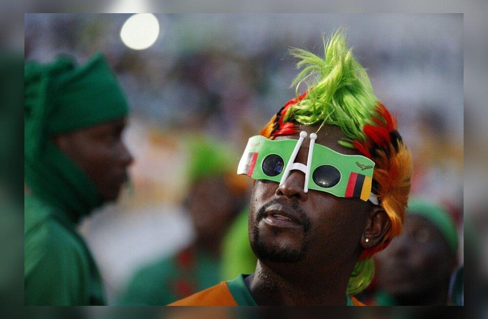 Muinasjutuline: Sambia võitis pingelise penaltiseeria järel Aafrika meistrivõistlused