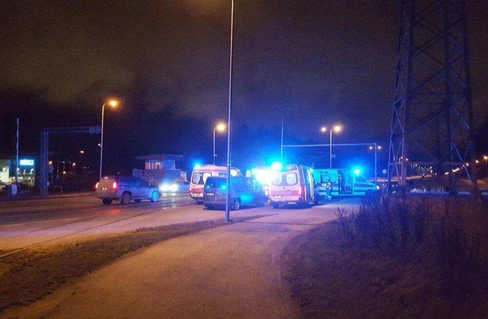 Raskeim liiklusõnnetus toimus Järvevana raudteeülesõidul