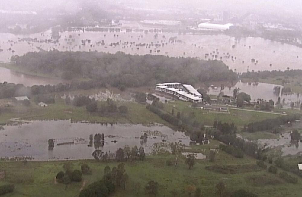 Tormid ähvardavad Austraalia Victoria osariiki üleujutustega