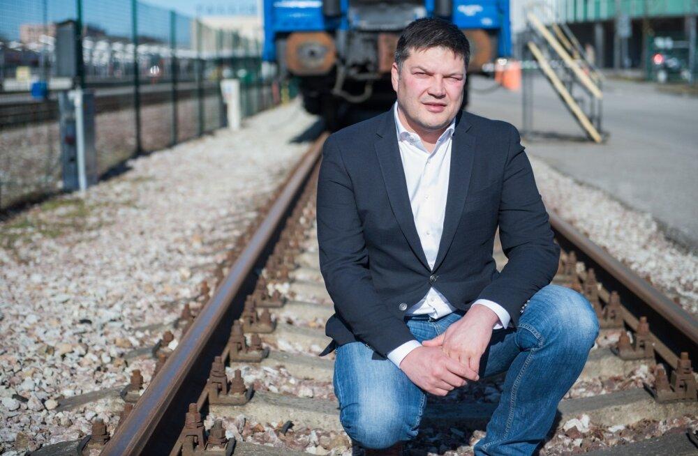 EVR Cargo juht Raul Toomsalu