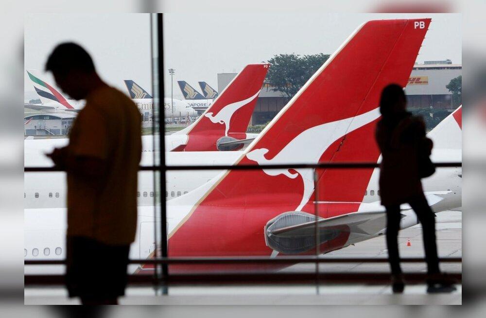 Maailma turvalisimaks lennufirmaks valiti Qantas, selgusid ka kõige ebaturvalisemad