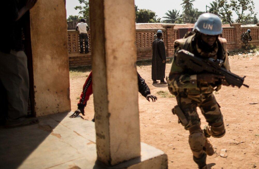 Kesk Aafrika Vabariiki raputas ootamatu vägivallapuhang