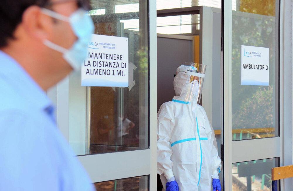 Itaalia teatas rekordarvust uutest koroonaviirusse nakatunutest sel suvel