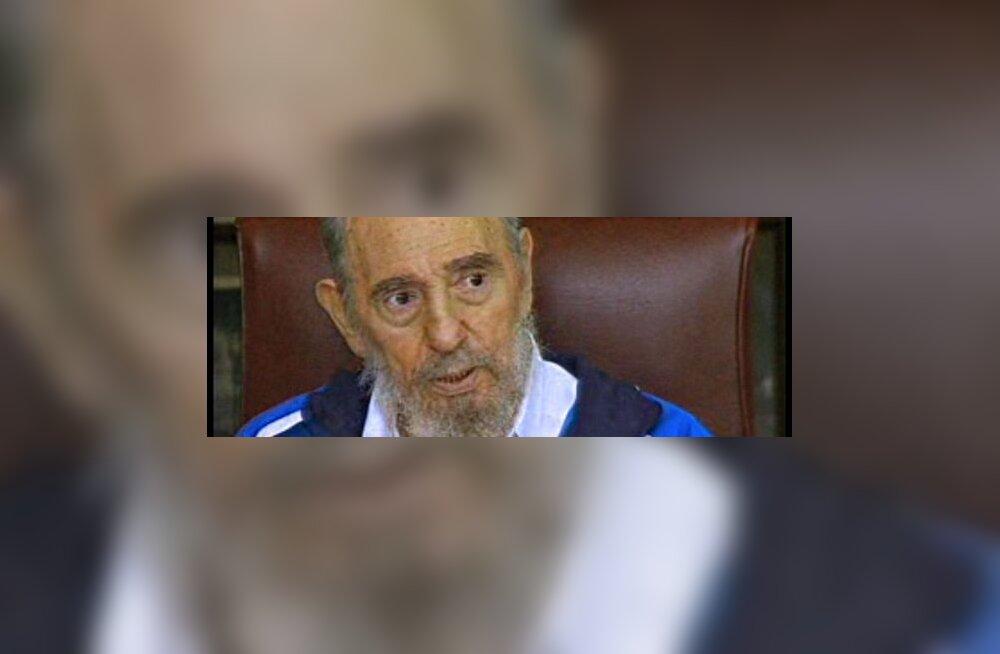 Fidel Castrot näidati üle pika aja televisioonis