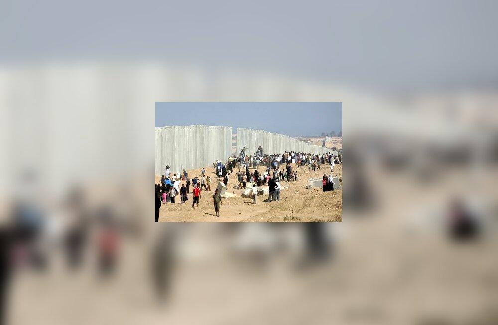 Egiptuse-Gaza piir, araablased liiguvad kontrollimatult